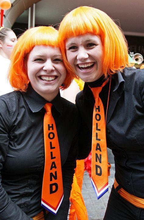 Die Fans der Oranjes - 7 - Bildquelle: dpa