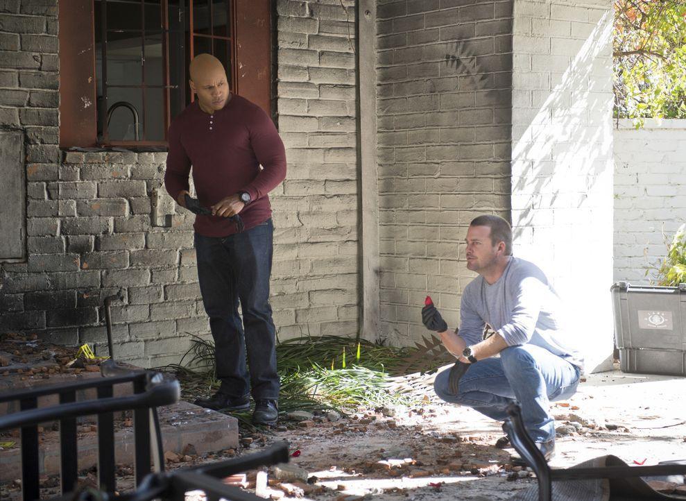 Ermitteln in einer Reihe von neuen Mordfällen: Callen (Chris O'Donnell, r.) und Sam (LL Cool J, l.) ... - Bildquelle: CBS Studios Inc. All Rights Reserved.