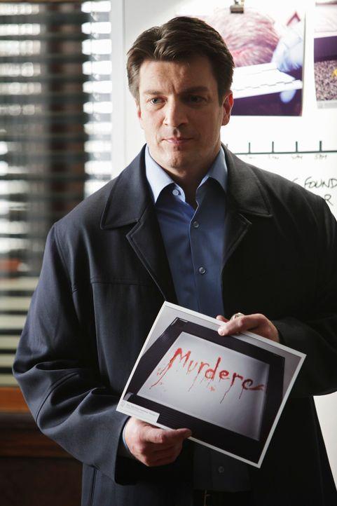 Zwischen ihm und Demming entfacht ein verbissener Wettkampf: Castle (Nathan Fillion) ... - Bildquelle: ABC Studios