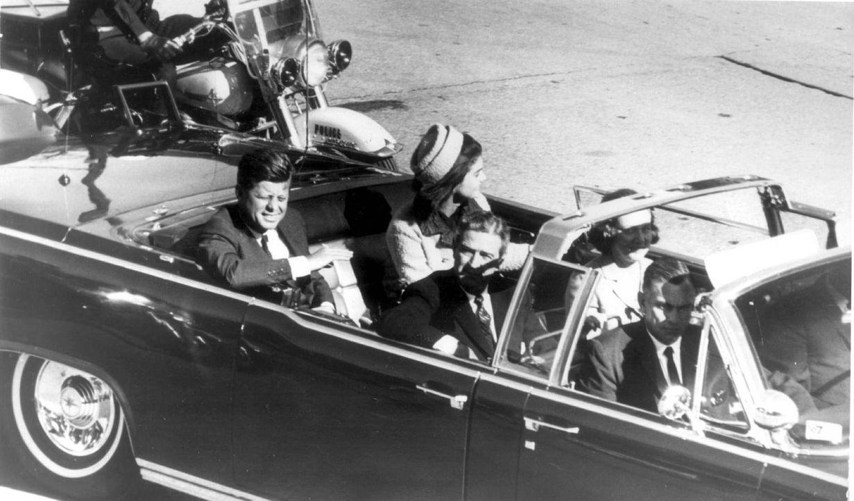 Die spektakulärsten Verschwörungstheorien - War der Kennedy- Mord ein Komplott des CIA? - Bildquelle: imago/United Archives International