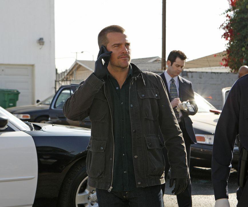 Im Wettlauf mit der Zeit: Callen (Chris O'Donnell) ... - Bildquelle: Sonja Flemming CBS Studios Inc. All Rights Reserved.
