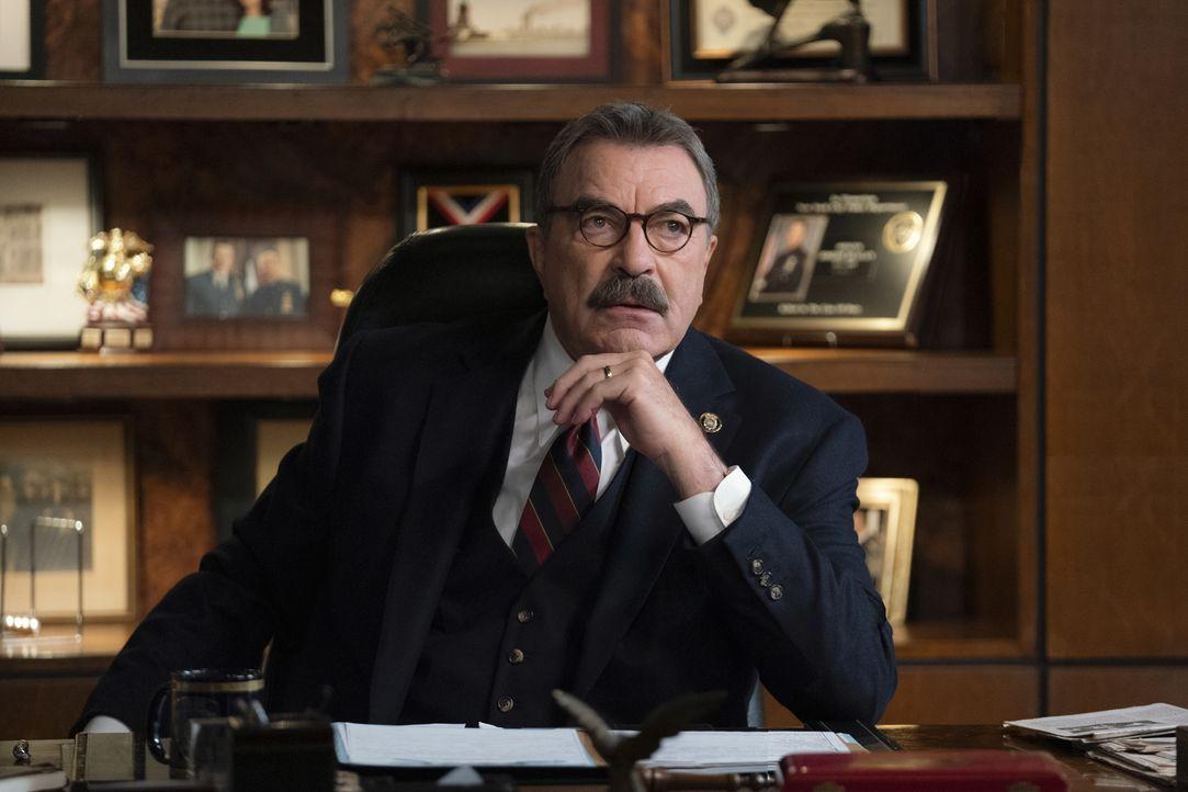 Frank Reagan (Tom Selleck) - Bildquelle: Patrick Harbron 2020 CBS Broadcasting Inc. All Rights Reserved. / Patrick Harbron