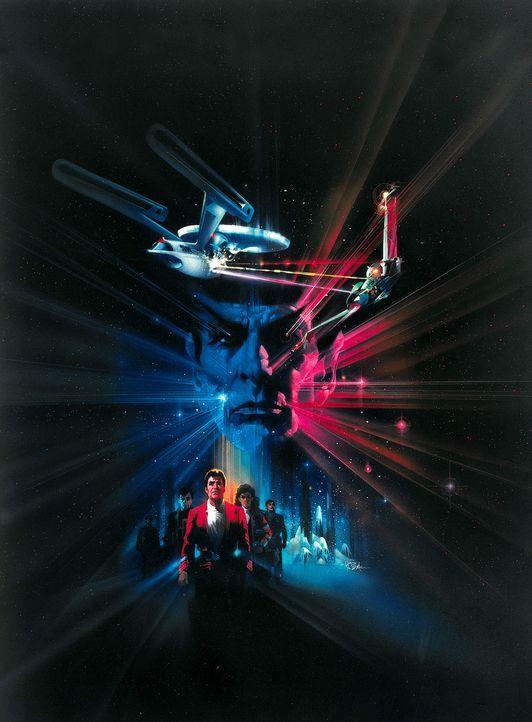 """Die Enterprise ist auf dem Rückweg zur Basis - ohne Mr. Spock, der im Kampf um die Wunderwaffe """"Genesis"""" sein Leben für die Mannschaft geopfert ha... - Bildquelle: Paramount Pictures"""