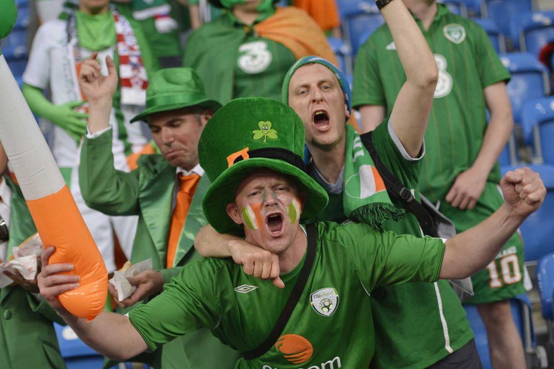 Fußball-Fan-Irland-120610-2-AFP - Bildquelle: AFP