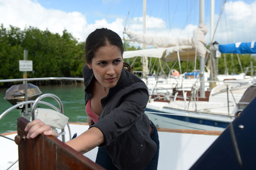 Muss sich erst an den Gedanken gewöhnen, dass Rosewood mit seiner Vermutung recht hatte: Detective Karissa Villa (Jaina Lee Ortiz) ... - Bildquelle: 2015-2016 Fox and its related entities.  All rights reserved.