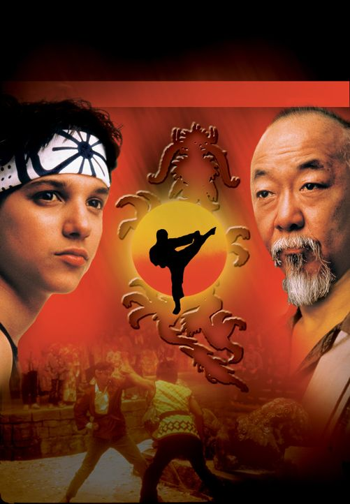 """Karate Kid II - Entscheidung in Okinawa"" - Artwork - Bildquelle: Copyright   1986 Columbia Pictures Industries, Inc. All Rights Reserved."