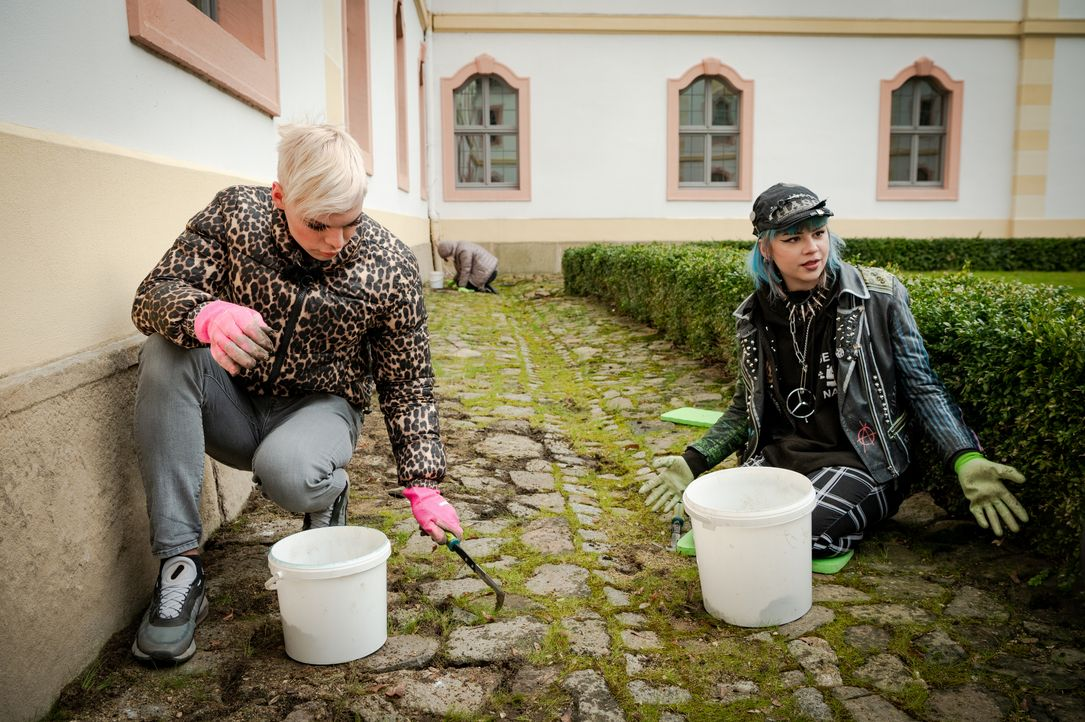 Johnny, l.; Sarah, r. - Bildquelle: Claudius Pflug Kabel Eins / Claudius Pflug