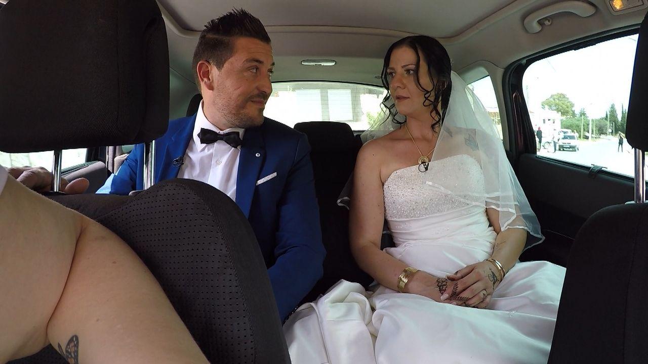Endlich ist es soweit, Andrea und Ayman heiraten. Doch Ayman erscheint nicht... - Bildquelle: ATV