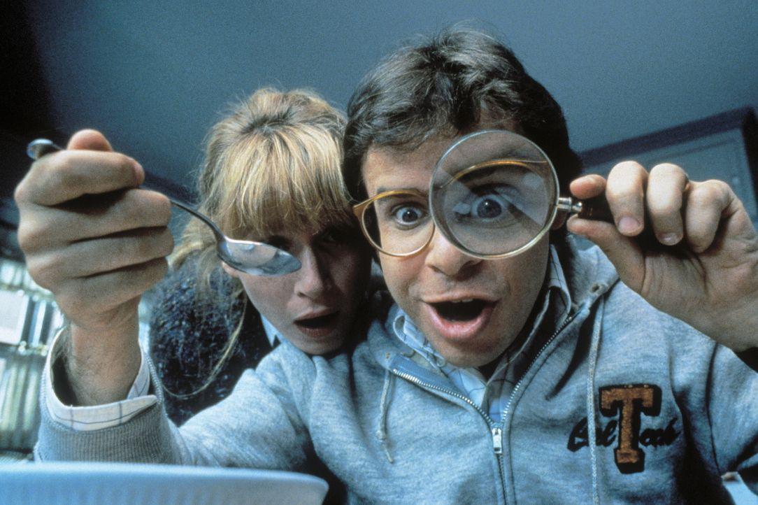 Als Diane (Marcia Strassman, l.) und Wayne (Rick Moranis, r.) in den Cornflakes eine fulminante Entdeckung machen, hängt der Haussegen erst einmal g... - Bildquelle: Walt Disney Pictures