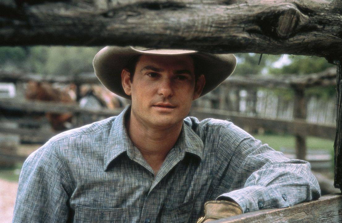 Nur mit zwei Pferden und ein paar Lebensmitteln brechen John und Lacey (Henry Thomas) in Richtung mexikanische Grenze zu einem Western-Abenteuer auf... - Bildquelle: Sony Pictures Entertainment