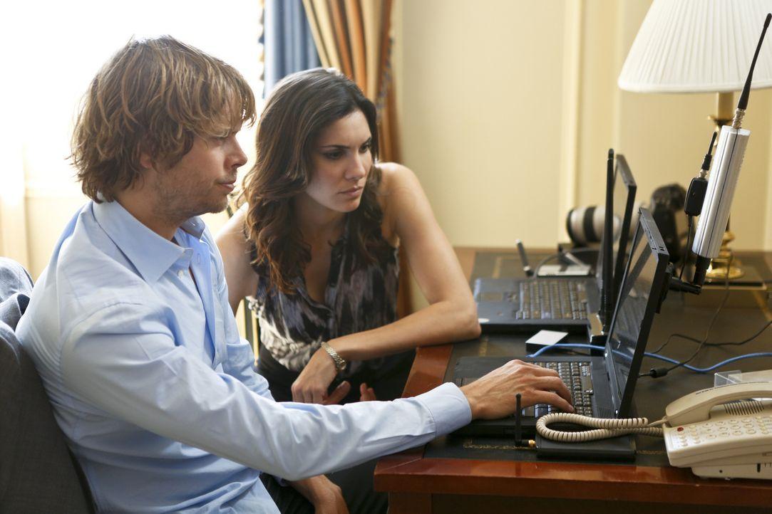 Ein neuer Fall beschäftigt Deeks (Eric Christian Olsen, l.) und Kensi (Daniela Ruah, r.) ... - Bildquelle: CBS Studios Inc. All Rights Reserved.