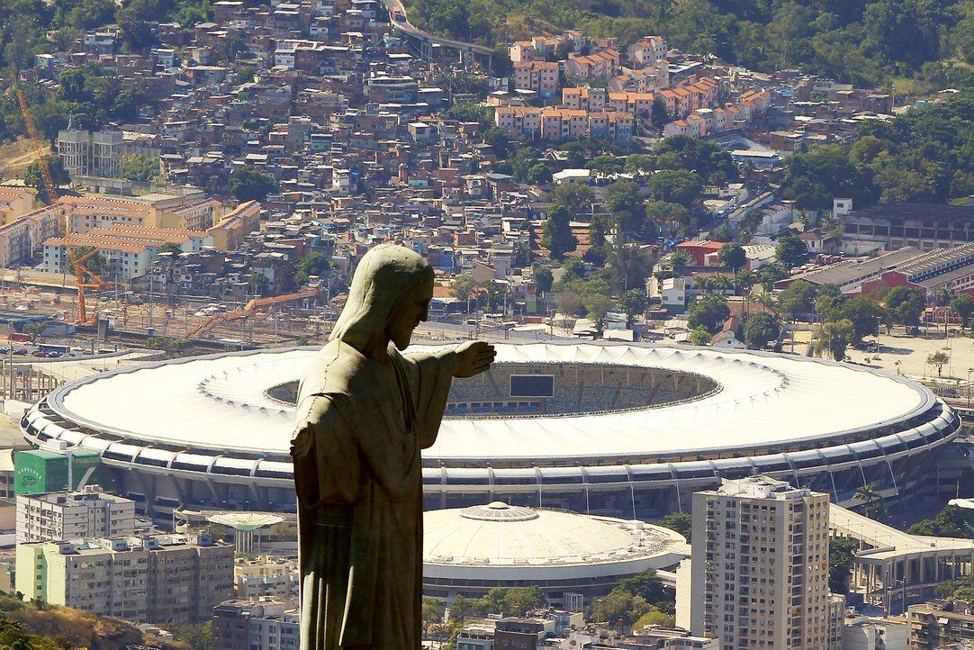 WM-Brasilien-Estadio-do-Maracana-Rio-de-Janeiro-140207-dpa - Bildquelle: dpa