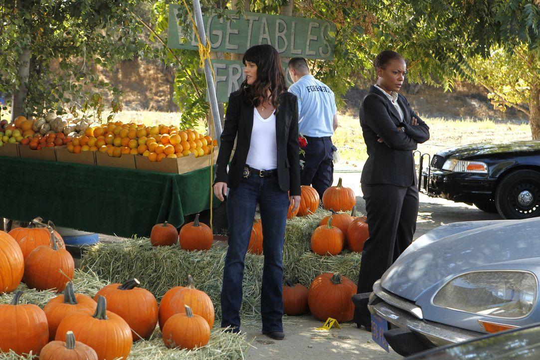 Nachdem Patrick an einem Obststand entführt wurde, macht sich das Team um Teresa (Robin Tunney, l.) und Madeleine (Aunjanue Ellis, r.) sofort auf de... - Bildquelle: Warner Bros. Television