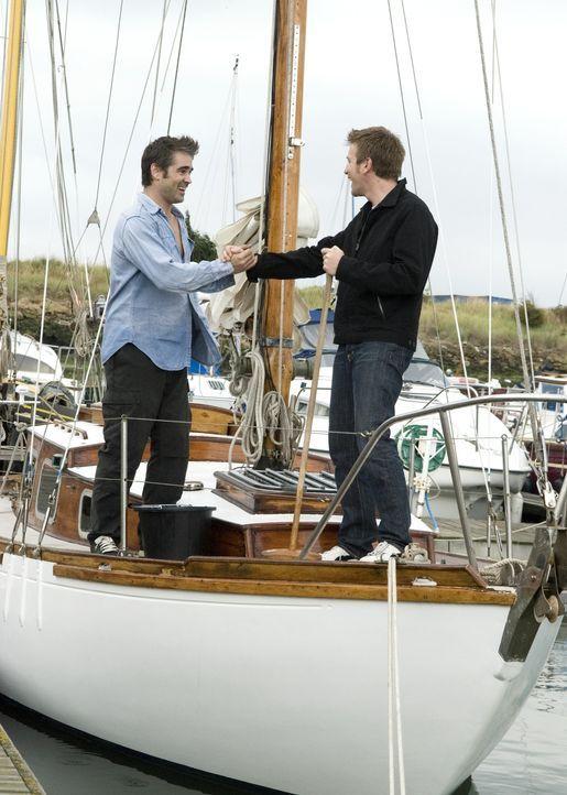 Die Brüder Terry (Colin Farrell, l.) und Ian (Ewan McGregor, r.) haben beide ständig kein Geld. Trotzdem entscheiden sie sich dafür, ein Boot zu... - Bildquelle: Constantin Film
