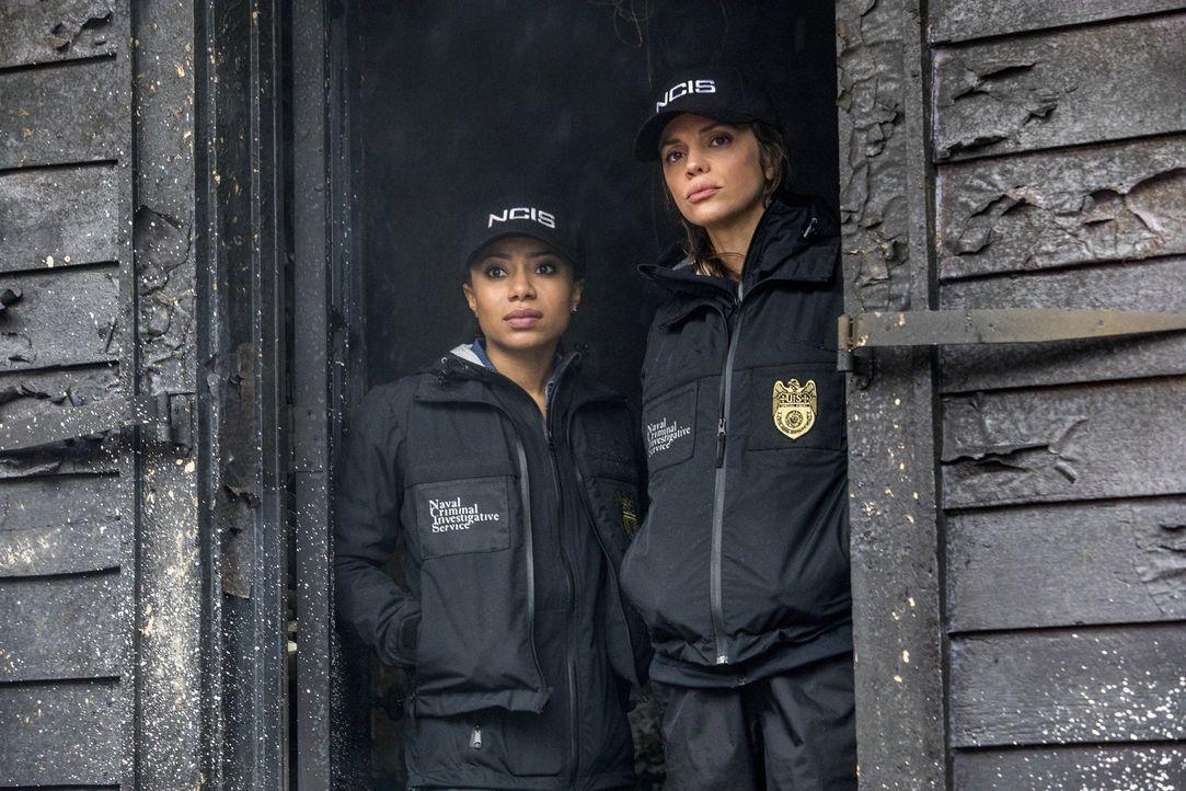 (v.l.n.r.) Sonja Percy (Shalita Grant); Tammy Gregorio (Vanessa Ferlito) - Bildquelle: Skip Bolen 2017 CBS Broadcasting, Inc. All Rights Reserved
