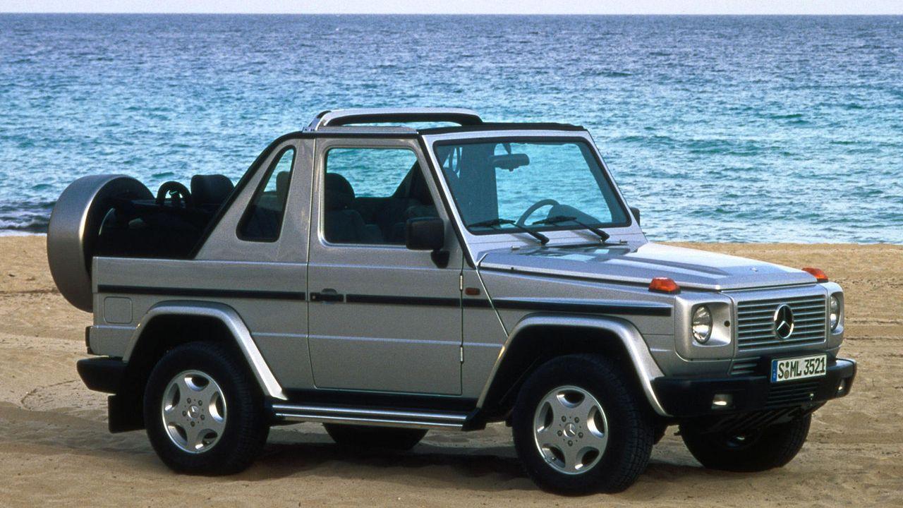 Mercedes G-Modell - Bildquelle: Mercedes