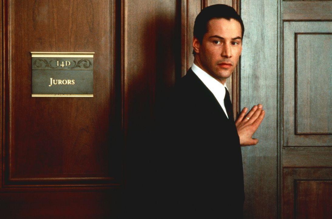 Im Auftrag des Teufels für Recht und Ordnung: der verblendete Jung-Anwalt Kevin Lomax (Keanu Reeves) ... - Bildquelle: Warner Bros.
