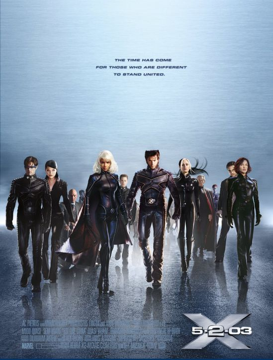 X-MEN 2 - Plakatmotiv - Bildquelle: 20th Century Fox International Television