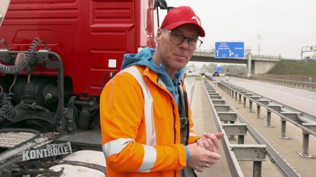 Achtung Kontrolle - Achtung Kontrolle! - Thema U.a.: Lkw Unfall Auf Der A9 - Autobahnmeisterei Freimann