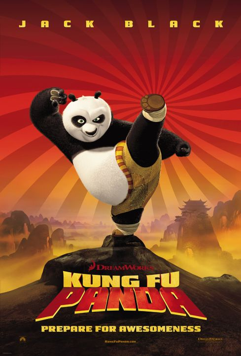 Kung Fu Panda - Plakatmotiv - Bildquelle: Paramount Pictures