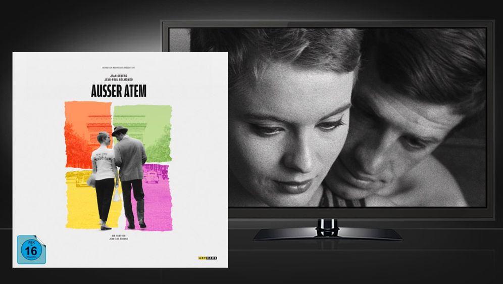 Ausser Atem (4K UHD+Blu-ray) - Bildquelle: Studiocanal