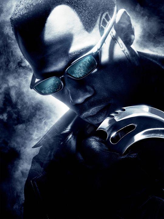 Versucht mit allen Mitteln, Ur-Vampir Graf Dracula zu vernichten: Blade (Wesley Snipes) ... - Bildquelle: New Line Cinema