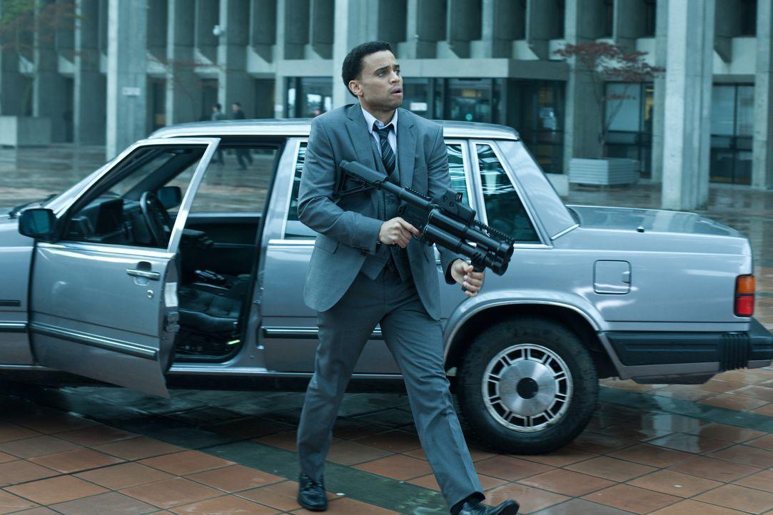Noch ahnt Selene nicht, dass der hilfsbereite Detective Sebastian (Michael Ealy) ganz andere Ziele verfolgt als sie selbst ... - Bildquelle: 2012 Lakeshore Entertainment Group LLC. All Rights Reserved.