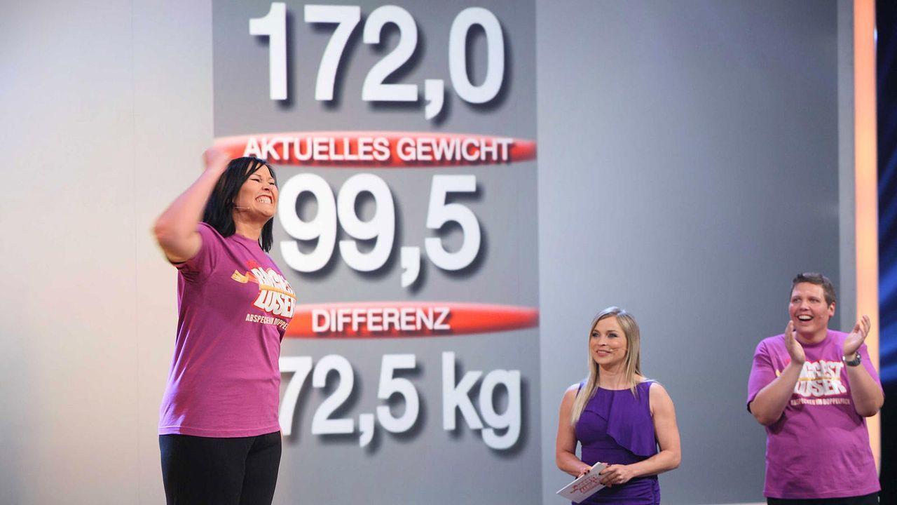the-biggest-loser-finale-team-violett-elena-kabeleins 1600 x 900 - Bildquelle: kabel eins