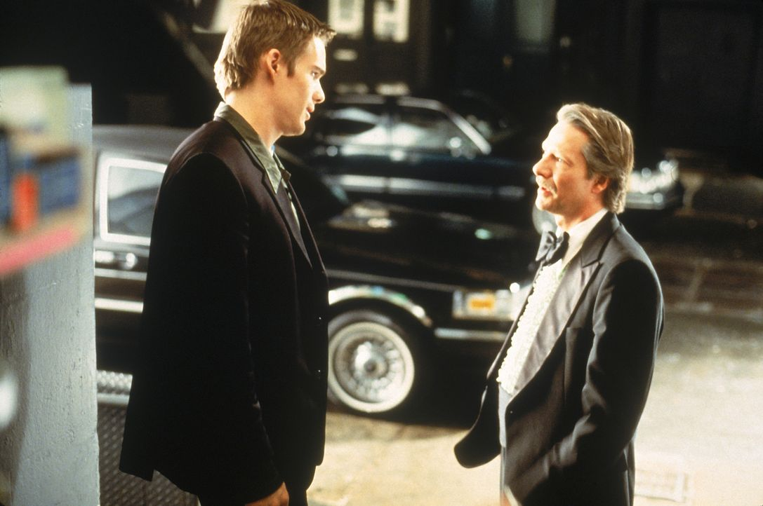 Finnegan Bell (Ethan Hawke, l.) hat ein sehr gutes Verhältnis zu seinem Onkel Joe (Chris Cooper, r.), bei dem er aufgewachsen ist ... - Bildquelle: 20 Century Fox