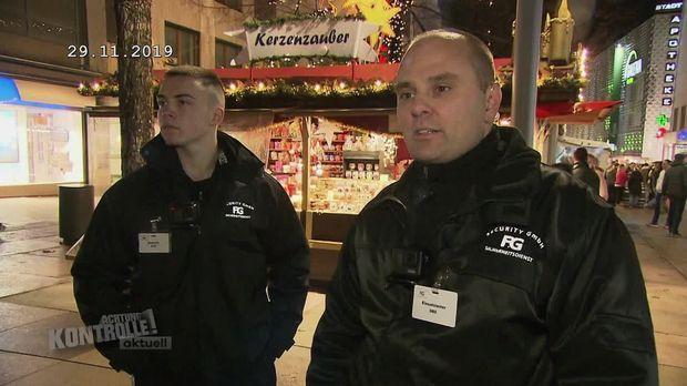Achtung Kontrolle - Achtung Kontrolle! - Thema U.a.: Security Auf Dem Weihnachtsmarkt - Weihnachtsmarkt Pforzheim