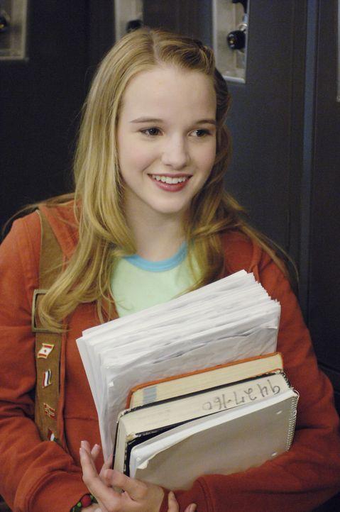 Jamie Bartlett (Kay Panabaker) ist ein ganz normaler Teenager, bis sie versehentlich statt eines Aufsatzes ihr Tagebuch als Hausaufgabe einreicht ... - Bildquelle: Buena Vista International Television