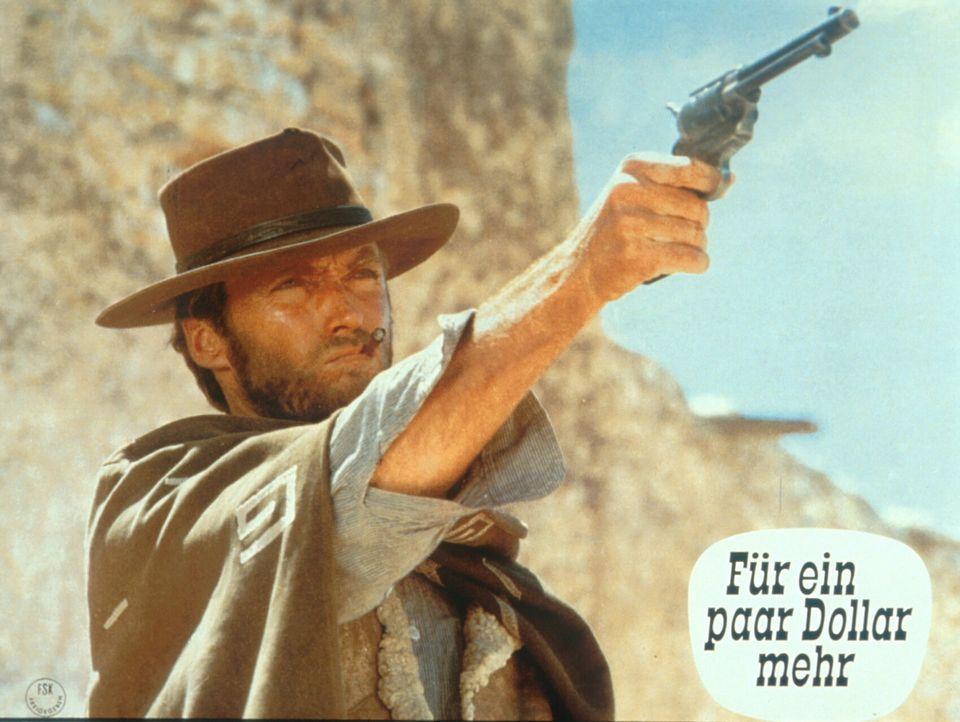 Die beiden ausgebufften Kopfgeldjäger Colonel Mortimer und Monco (Clint Eastwood) sind beide hinter dem gefürchteten mexikanischen Banditen Indio... - Bildquelle: United Artists