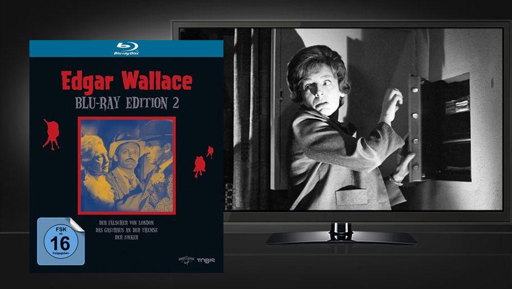 Edgar Wallace Blu-ray Edition 2 (Blu-ray Box) - Bildquelle: Universum Film