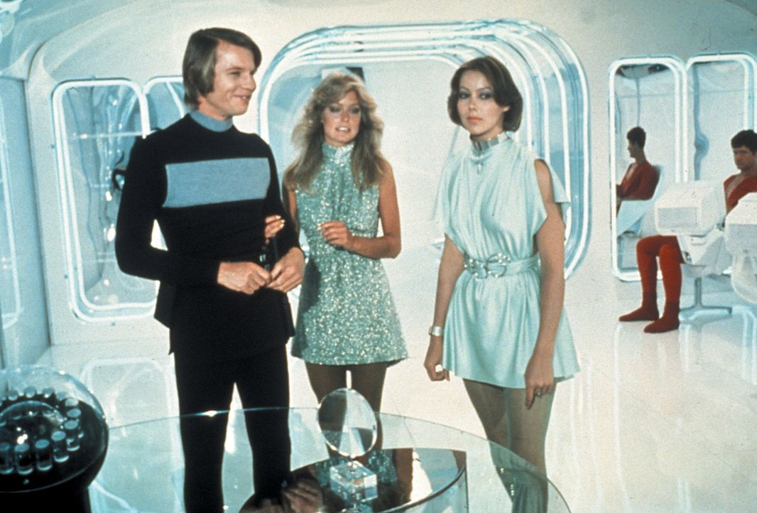 (v.l.n.r.) Logan (Michael York); Holly (Farrah Fawcett); Jessica (Jenny Agutter) - Bildquelle: Warner Bros. Entertainment, Inc.