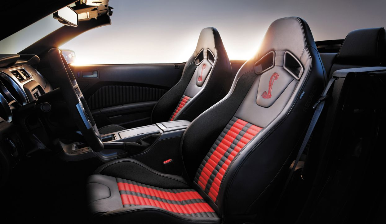 2014er Mustang Shelby GT500 (13) - Bildquelle: © 2013 Ford Motor Company