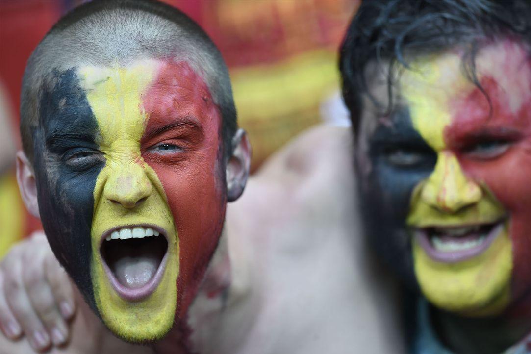 Belgium_Fan_Sreaming_PHILIPPE DESMAZES_AFP - Bildquelle: AFP PHILIPPE DESMAZES