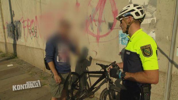 Achtung Kontrolle - Achtung Kontrolle! - Thema U.a.: Drogenfund Bei Fahrradkontrolle - Fahrradstaffel Dresden