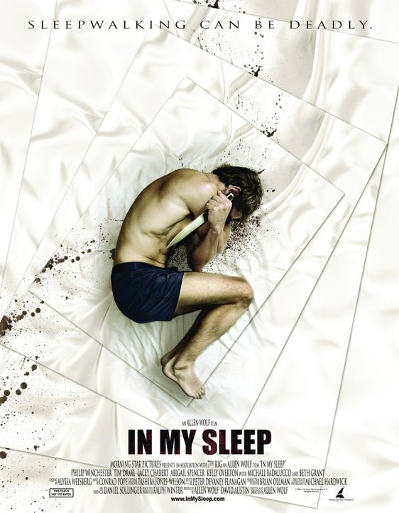 IN MY SLEEP - Plakat - Bildquelle: MMIX by In My Sleep Film Production LLC.All Rights Reserved.