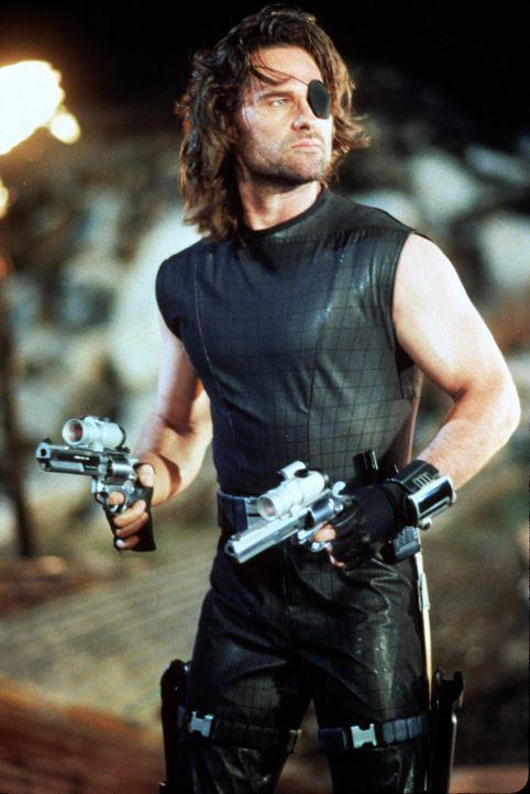 Kann Snake Plissken (Kurt Russell) das Gerät, welches in falschen Händen den Untergang der Zivilisation bedeuten könnte, zurückbringen? - Bildquelle: Paramount Pictures