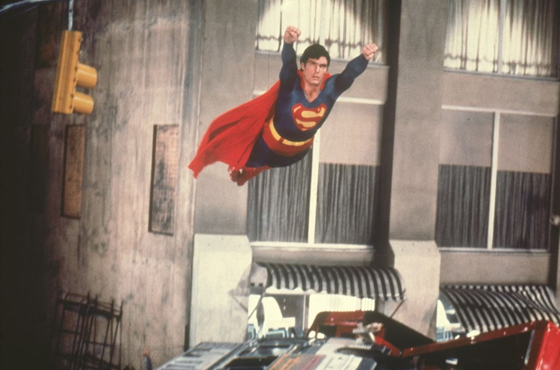 Superman (Christopher Reeve) - Bildquelle: DC Comics.   1981 Warner Bros. Entertainment Inc. All rights reserved.