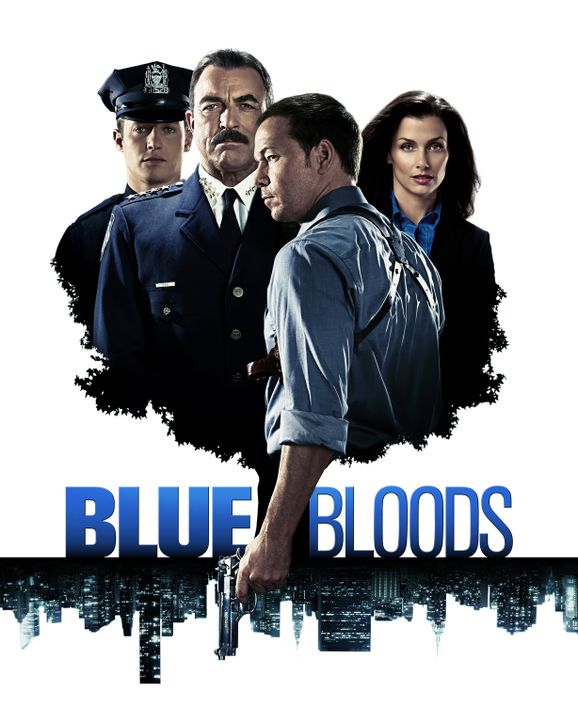 (1. Staffel) - (v.l.n.r.) Jamie (Will Estes), Frank (Tom Selleck), Danny (Donnie Wahlberg) und Erin (Bridget Moynahan) teilen eine berufliche Leiden... - Bildquelle: 2010 CBS Broadcasting Inc. All Rights Reserved