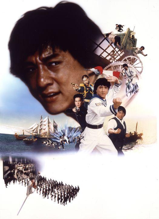 Der Kung-Fu-Kämpfer Dragon Ma (Jackie Chan) ist der Superfighter! - Bildquelle: Splendid