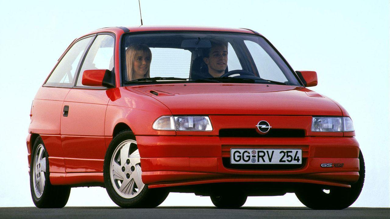 Astra F GSI - Bildquelle: Opel