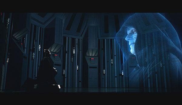 """Platz 3: Imperator aus Star Wars - Bildquelle: """"Star Wars - Episode V - Das Imperium schlägt zurück"""": auf DVD erhältlich (20th Century Fox)"""