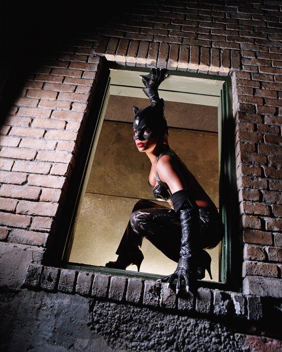 Nach der Wiederbelebung durch eine alte ägyptische Tempelkatze, macht sich Patience Price alias Catwoman (Halle Berry) auf die Suche nach ihrem Mö... - Bildquelle: Warner Bros. Television