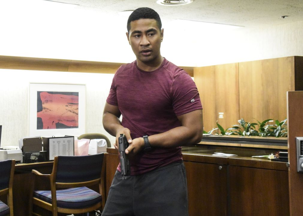 Bekommt Junior (Beulah Koale) endlich die Möglichkeit, zu zeigen, was ihn ihm steckt? - Bildquelle: Norman Shapiro 2017 CBS Broadcasting Inc. All Rights Reserved. / Norman Shapiro