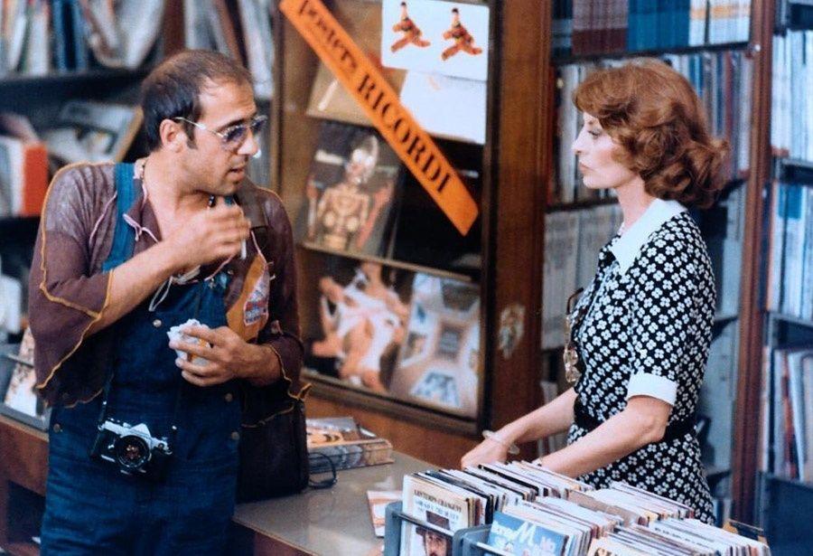 Antonmatteo Colombo detto Click (Adriano Celentano, l.); Clicks Frau (Capucine, r.) - Bildquelle: Koch Films GmbH