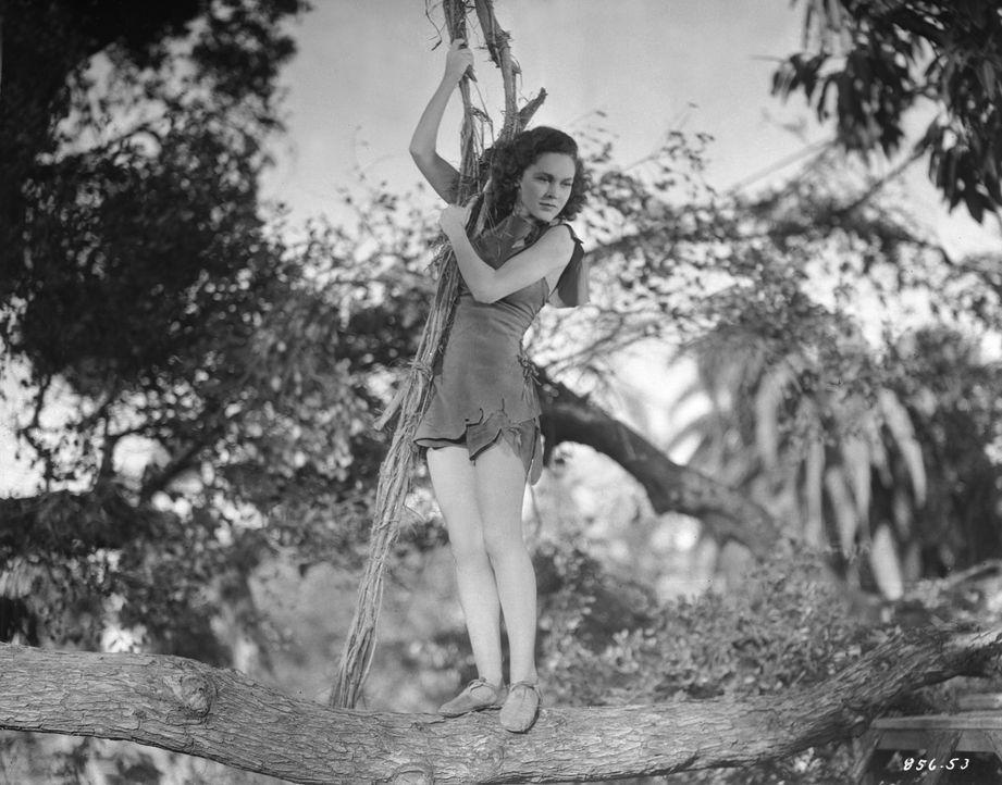 Jane (Maureen O'Sullivan) - Bildquelle: 1936 Warner Bros. Entertainment Inc. All Rights Reserved.
