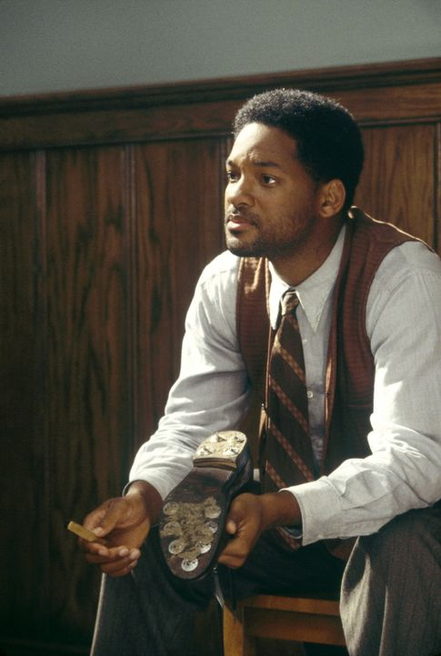 Bagger Vance (Will Smith) ahnt, wie er Rannulph Junuh helfen kann ... - Bildquelle: 20th Century Fox Film Corporation