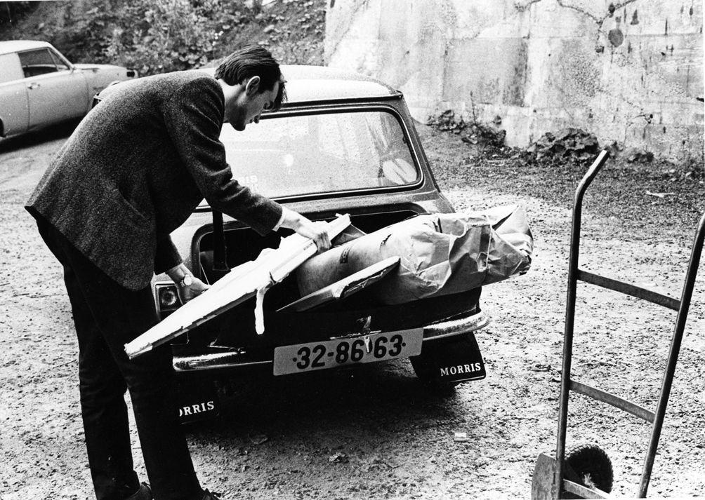 Wie man nach dem Ikea Einkauf seinen Mini belädt 1969